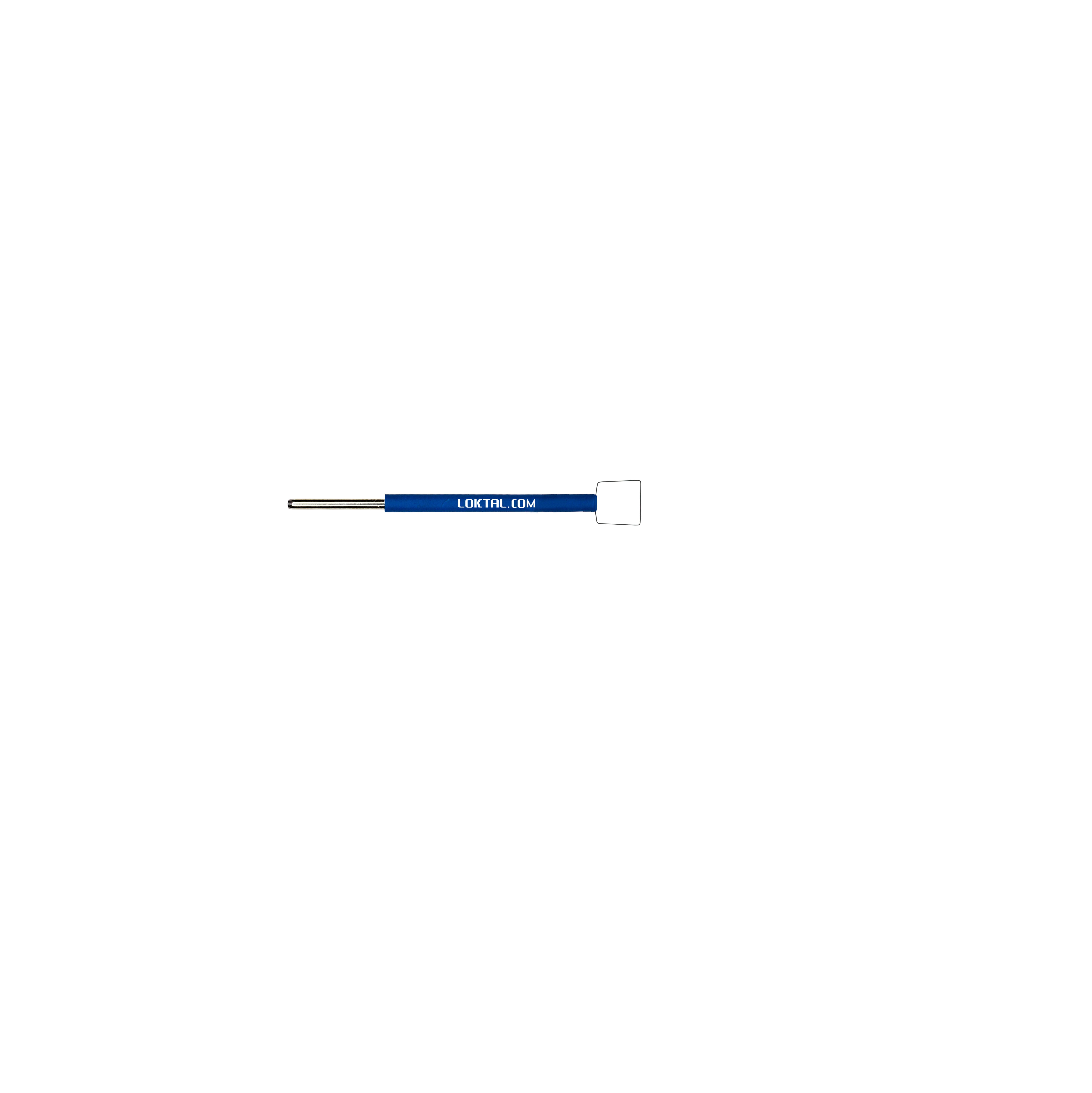 ACEL0145 - Eletrodo Eletrocirúrgico Alça Quadrada, Reto