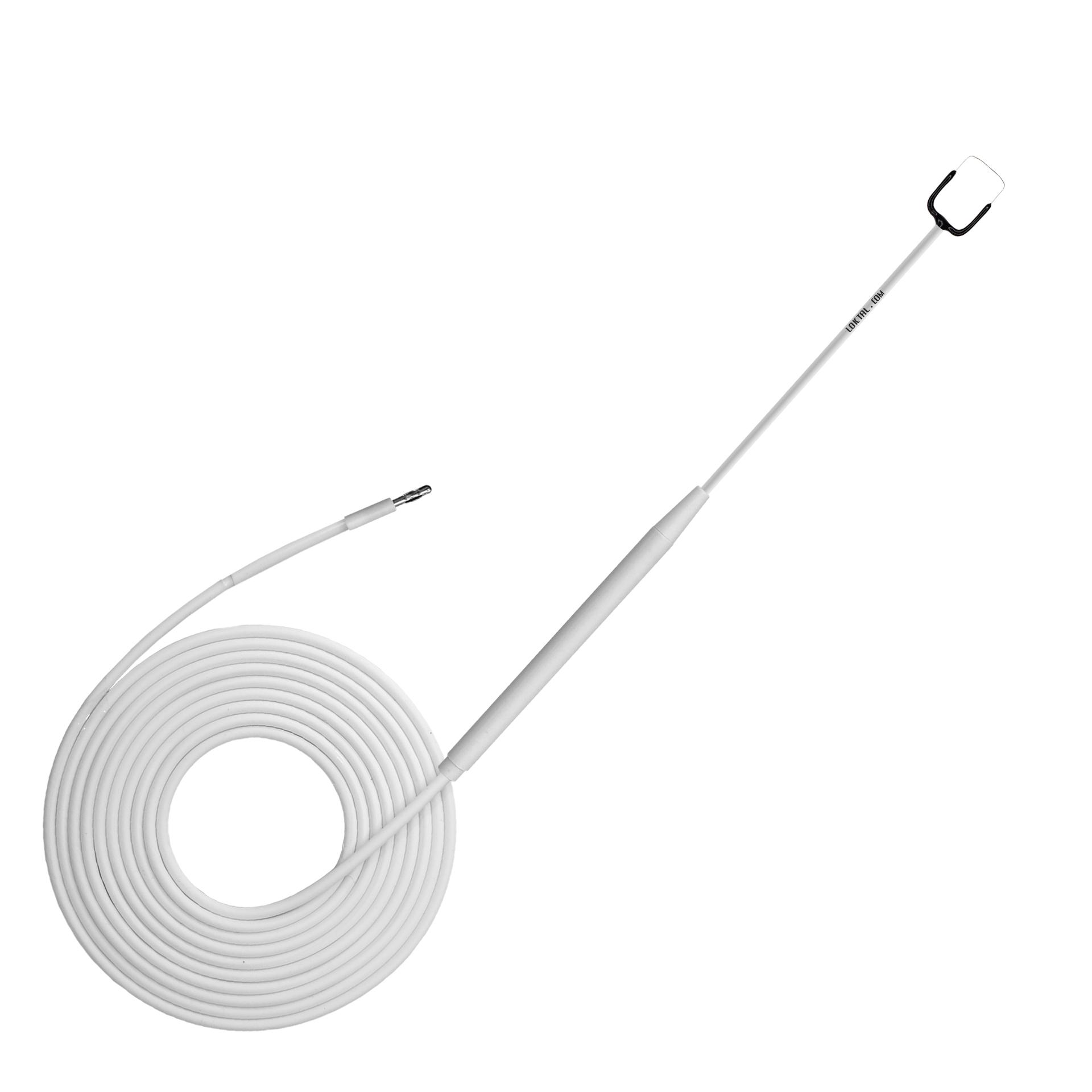 ACEL0027CD - Eletrodo Eletrocirúrgico Descartável Estéril Alça Quadrada, Reto