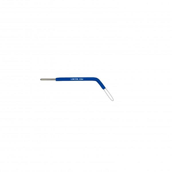 ACEL0051 - Eletrodo Eletrocirúrgico Alça, Oval Curvada 45°